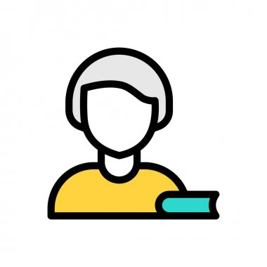 Female Icon for website design and desktop envelopment, development. premium pack icon