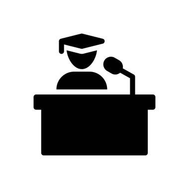 Speech Icon for website design and desktop envelopment, development. premium pack icon