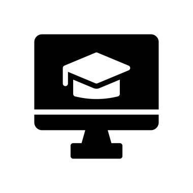 Degree  Icon for website design and desktop envelopment, development. premium pack icon