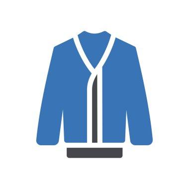 Coat Icon for website design and desktop envelopment, development. premium pack icon
