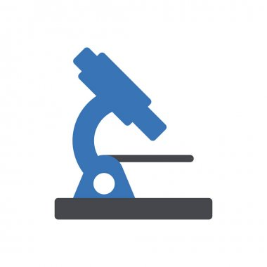 Microscope  Icon for website design and desktop envelopment, development. premium pack icon