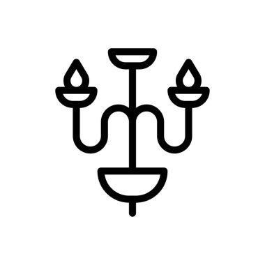 Candelabra  Icon for website design and desktop envelopment, development. premium pack icon