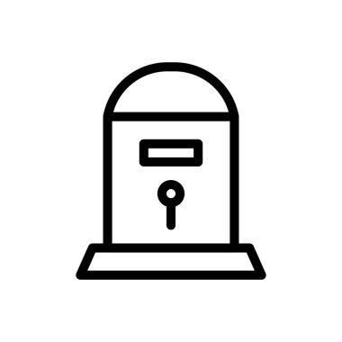Mail Icon for website design and desktop envelopment, development. premium pack icon