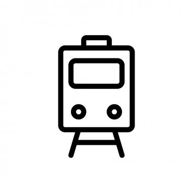Train Icon for website design and desktop envelopment, development. premium pack icon