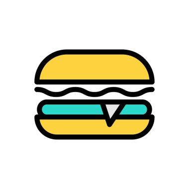 Burger Icon for website design and desktop envelopment, development. premium pack icon