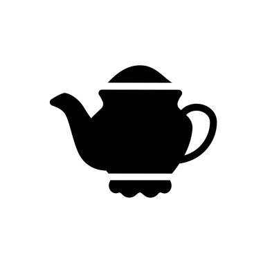 Teapot Icon for website design and desktop envelopment, development. premium pack icon