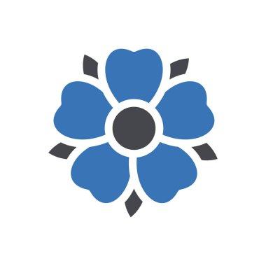 Flower  Icon for website design and desktop envelopment, development. premium pack icon