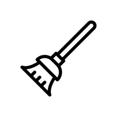 Mop Icon for website design and desktop envelopment, development. premium pack icon