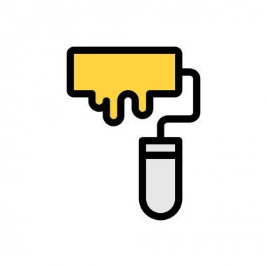 Roller Icon for website design and desktop envelopment, development. premium pack icon