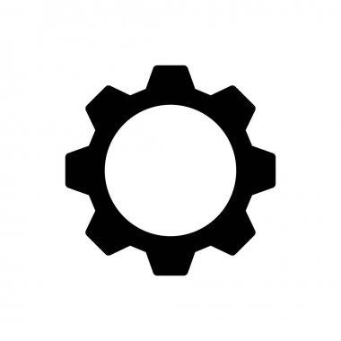 Gear Icon for website design and desktop envelopment, development. premium pack icon