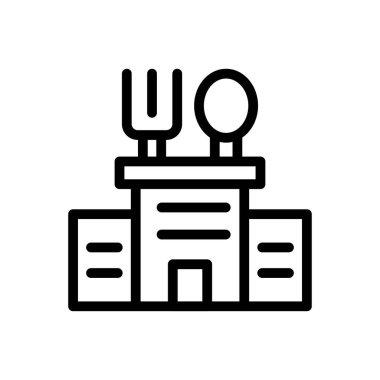 Restaurant Icon for website design and desktop envelopment, development. premium pack. icon