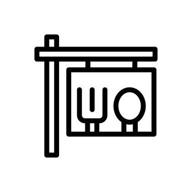 Hotel board Icon for website design and desktop envelopment, development. premium pack. icon