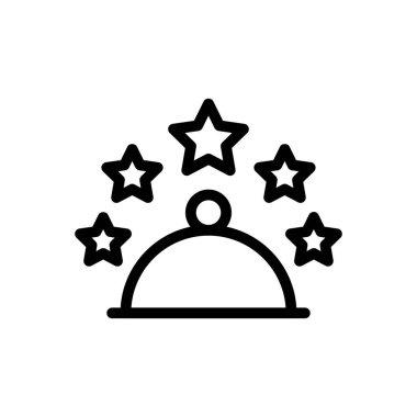 Five star hotel Icon for website design and desktop envelopment, development. premium pack. icon