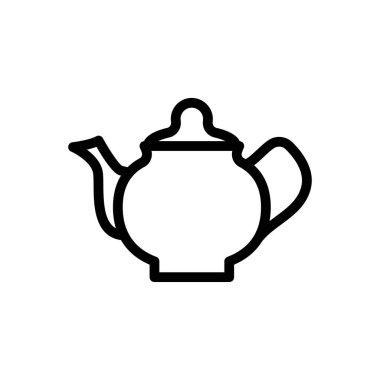 Tea kettle Icon for website design and desktop envelopment, development. premium pack. icon