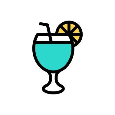 Lemon soda Icon for website design and desktop envelopment, development. premium pack. icon