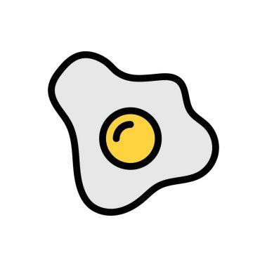Omelette Icon for website design and desktop envelopment, development. premium pack. icon