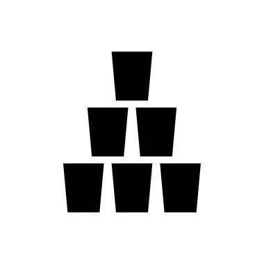 Glass drink Icon for website design and desktop envelopment, development. premium pack. icon