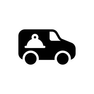 Food delivery Icon for website design and desktop envelopment, development. premium pack. icon