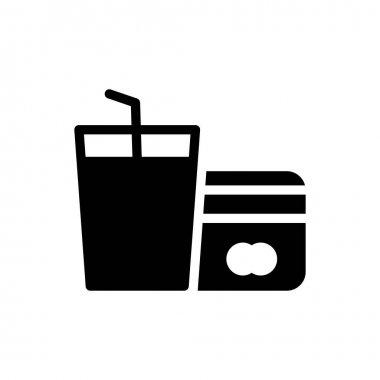 Juice pay Icon for website design and desktop envelopment, development. premium pack. icon