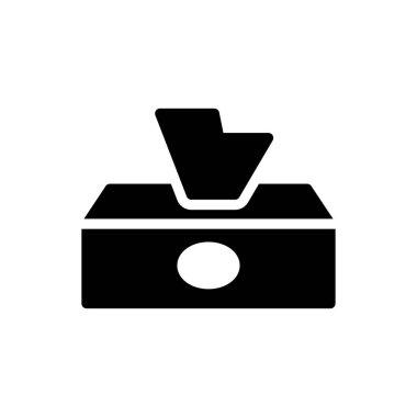 Tissue Icon for website design and desktop envelopment, development. premium pack. icon