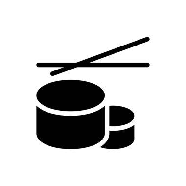 Sushi chopstick Icon for website design and desktop envelopment, development. premium pack. icon