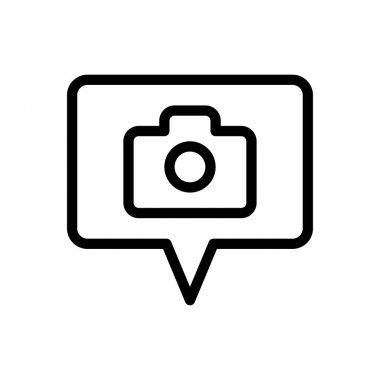 Camera Icon for website design and desktop envelopment, development. premium pack. icon