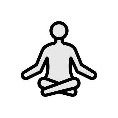 Yoga Icon for website design and desktop envelopment, development. premium pack. icon