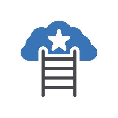 Career  Icon for website design and desktop envelopment, development. premium pack. icon
