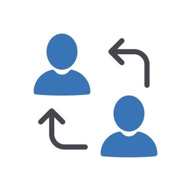 Replace Icon for website design and desktop envelopment, development. premium pack. icon