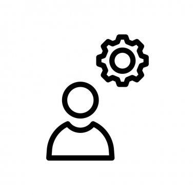 User setting Icon for website design and desktop envelopment, development. premium pack. icon