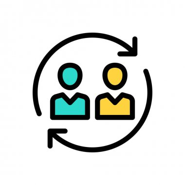 Exchange Icon for website design and desktop envelopment, development. premium pack. icon