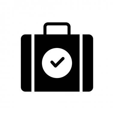 Tick portfolio Icon for website design and desktop envelopment, development. premium pack. icon