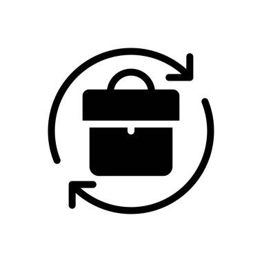 Portfolio refresh Icon for website design and desktop envelopment, development. premium pack. icon