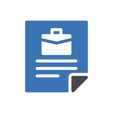 Job application Icon for website design and desktop envelopment, development. premium pack. icon
