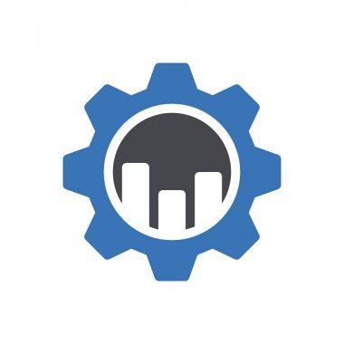 Chart setting Icon for website design and desktop envelopment, development. premium pack. icon