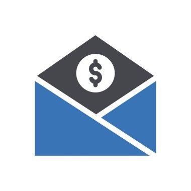 Tax message Icon for website design and desktop envelopment, development. premium pack. icon