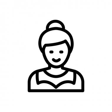 Mother Icon for website design and desktop envelopment, development. premium pack. icon