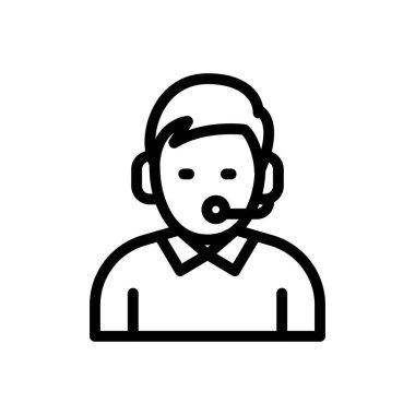 Support Icon for website design and desktop envelopment, development. premium pack. icon