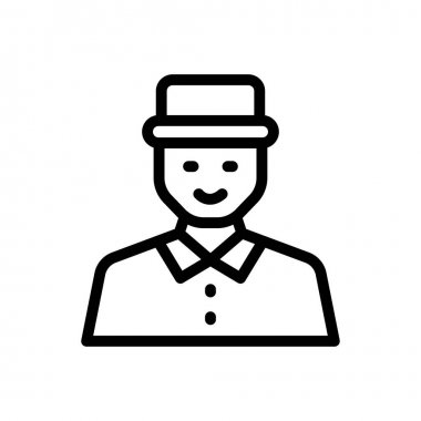 Father Icon for website design and desktop envelopment, development. premium pack. icon