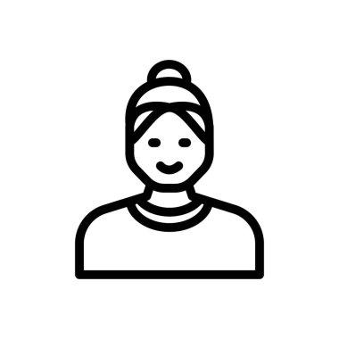 Housewife Icon for website design and desktop envelopment, development. premium pack. icon