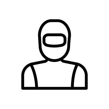 Spaceman Icon for website design and desktop envelopment, development. premium pack. icon