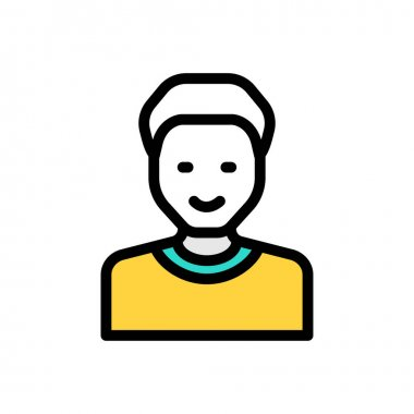 Male Icon for website design and desktop envelopment, development. premium pack. icon