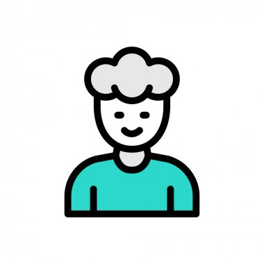 Man Icon for website design and desktop envelopment, development. premium pack. icon