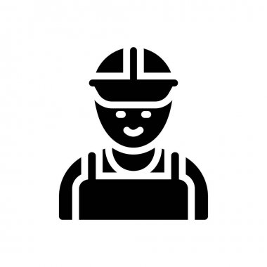 Engineer Icon for website design and desktop envelopment, development. premium pack. icon