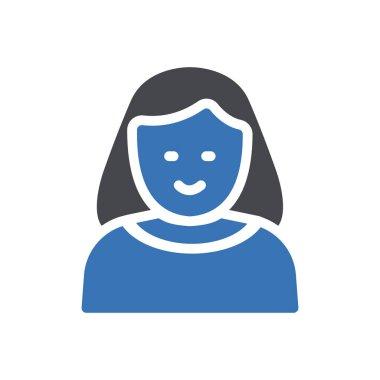 Women Icon for website design and desktop envelopment, development. premium pack. icon