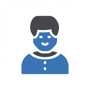 Man Icon for website design and desktop envelopment, development. premium pack. icon
