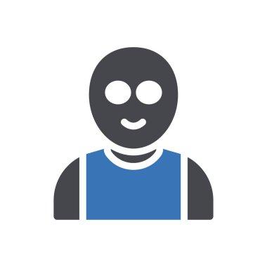 Old man Icon for website design and desktop envelopment, development. premium pack. icon