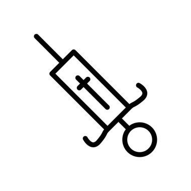 Syringe Icon for website design and desktop envelopment, development. premium pack. icon