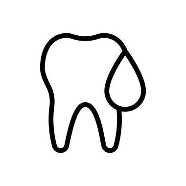 Dental Icon for website design and desktop envelopment, development. premium pack. icon