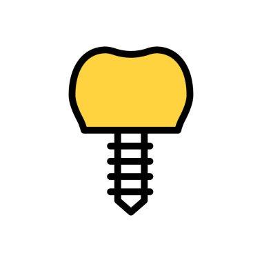 Implant Icon for website design and desktop envelopment, development. premium pack. icon